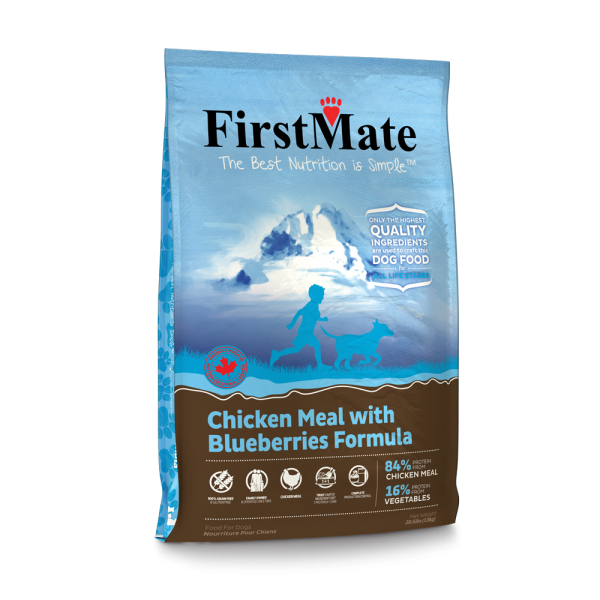 FirstMate-GrainFree-New-13kg-ChickenMealWithBlueberries-Left